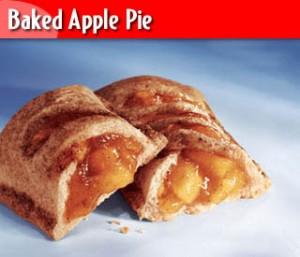 Torta de maçã assada
