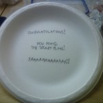 The secret plate
