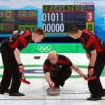 Equipe canadense de curling - medalha de ouro