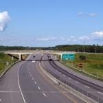 Trecho da A20 no Quebec