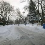 Rua do bairro após o dénégement