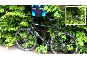 Parquimetro / estacionamento de bike