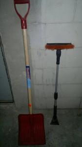 A pá e a escovinha