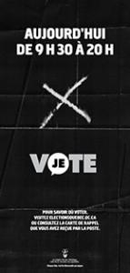 Campanha pelo voto