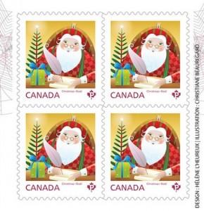 Selo comemorativo - © CanadaPost