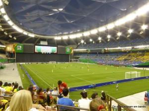 Estádio Olímpico - no ano passado Brasil e Alemanha pelo mundial sub-18 feminino
